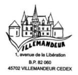 Logo Mairie Villemandeur